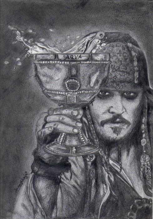 Johnny Depp par zuzia483